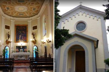 Celebrazione S. Messa presso il Carmelo - Padre Damioli